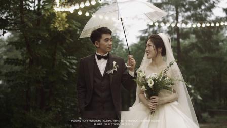 几何电影丨在雨后森林许你一场婚礼