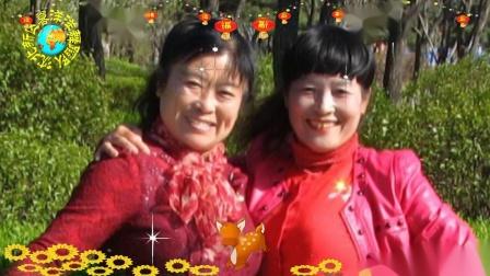 沈北新区喜洋洋广场舞《坐上高铁去北京》表演:喜洋洋画中画1080p