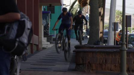 SANTA MUERTE - Urban Mountain Bike Riding in Ensenada