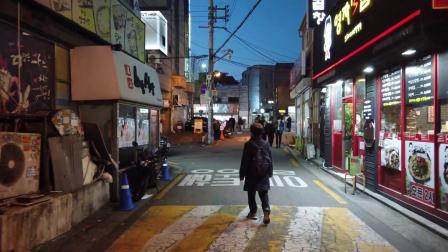 E画良品‖ 漫步夜晚的首尔 高丽大学周边街景 2020.4
