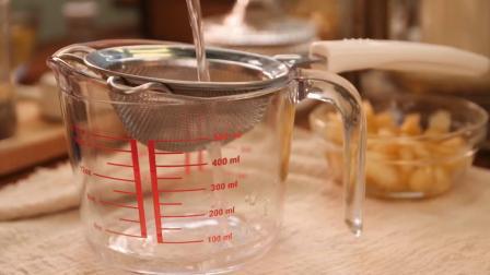 魔幻厨房-做果冻别放吉利丁!这样做蜜桃果冻无添加无色素,不小心就吃上瘾