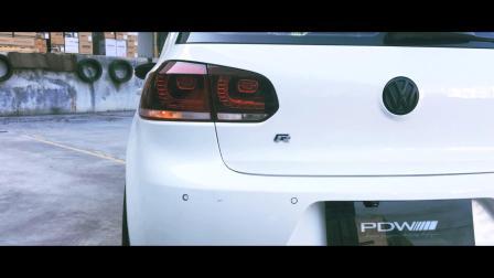 PDW轮毂-国际PROMOVIDEO-大众高尔夫GTI x PDW VERTIGO GT