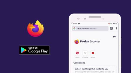 全新设计的 Firefox for Android