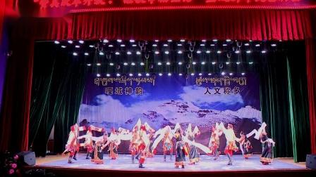 舞蹈:【嘎域风采】 演出单位:称多县通天河民间文化艺术团