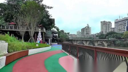 自贡城市景观张家沱