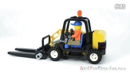 【小哲乐高屋】LEGO 城市系列 4206 环保车