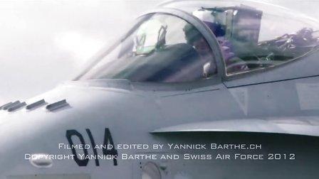 Waddington 2012  Clip Swiss F A-18 Hornet Deasy Solo Display