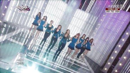 130125<看吧><Dolls>NineMuses KBS音乐银行现场版