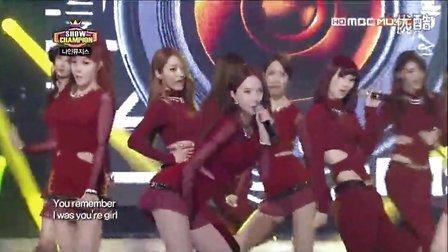 130130 <Dolls> Nine Muses MBC Music ShowChampions现场版