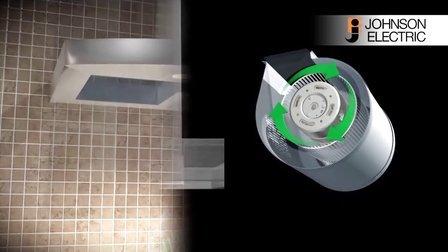 德昌电机推出家用抽油烟机用高效节能低噪音电机 (空气流量稳定)