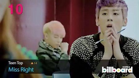 Billboard 韩国音乐排行榜KPOP Top50 201337  2013314