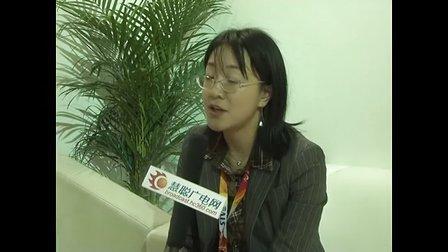 上海思华科技股份有限公司产品部总监朱懿接受采访