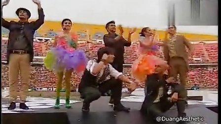 20130406 3台足球赛Nadech Yaya等表演歌曲体谅大合唱台歌及谢幕