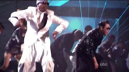 【猴姆独家】OMG!PSY联手MC Hammer做客2012年全美音乐奖震撼表演神曲江南Style
