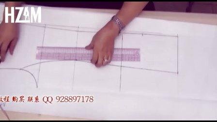 品牌女风衣打版视频  服装制作视频教程 服装打版视频