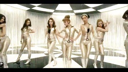 韩国女子组合 少女时代最新舞曲-Hoot  舞蹈版 高清MV