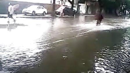台风菲特看宁波