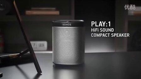 SONOS 无线多房间音响系统 —— PLAY:1 播放器(国林智控)