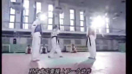 【侯韧杰  TKD  教学篇】之 崔永福跆拳道1