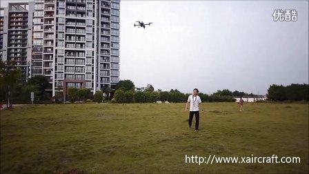 XAircraft X450Pro GPS定点测试