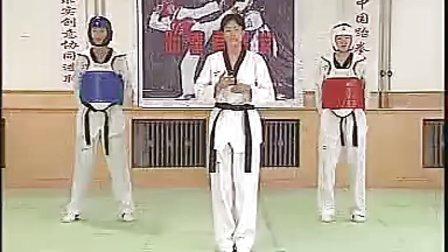 【侯韧杰  TKD  教学篇】之  三段冠军技术