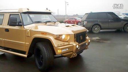 唐山惊险全球最贵防弹装甲SUV凯佰赫战盾(低音酷车)