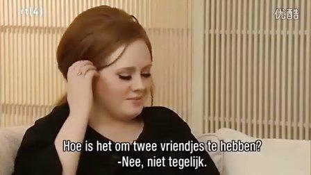 【猴姆独家】当日本主持人把Cockney分开读,我就知道Adele得笑崩……完整版的爆笑采访!