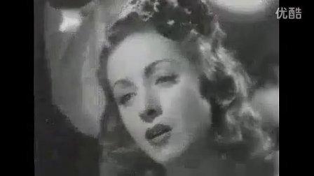 "Danielle Darrieux sings!-""Dans mon coeur"" in RETOUR A L'AUBE"