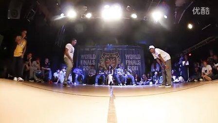 UK 2011 Champs Popping Quarter NELSON vs SLIM BOOG