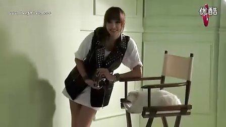 【Kiki】F(x)_Victoria-I Love Pet CeCi画报拍摄现场花絮.中字