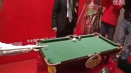 【珍贵视频】巫师的袖珍台球表演