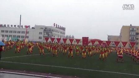 威风锣鼓:2012年6月北京怀柔全运会300人鼓乐节目《鼓舞飞镲》!