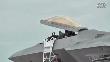 F22震撼机动性能展示