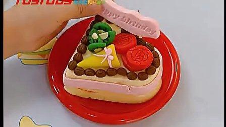 艺智宝 彩泥 生日蛋糕