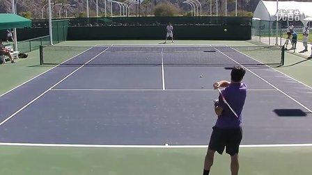 07.Roger Federer Warming Up in HD