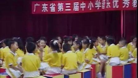 小学一年级音乐优质课视频《玩具进行曲》谢少莹广东省第三届中小学音乐优质课比赛