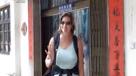 阳朔卓悦英文书院英语口语培训班义工视频
