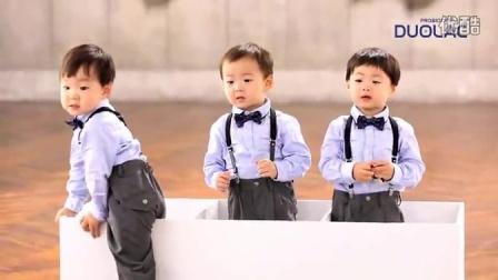 【宋一国】和三胞胎大韩民国万岁的probiotics duolac广告拍摄花絮