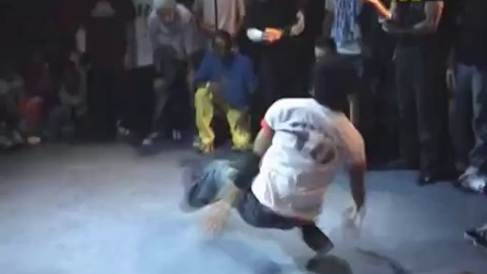 【粉红豹】bboy Physicx & Hong 10 vs Lil ceng. ibe 2005.