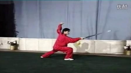 苏韧峰武当49式太极剑 《慢动作》演示