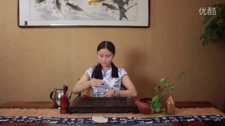 学茶泡茶 2015 旗袍美女 教你泡茗茶 洞庭碧螺春