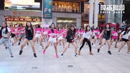上海葆姿舞蹈培训-珠宝城活动现场 旋风快闪 引领舞蹈新风尚