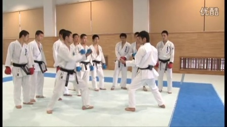 Naniwa Highschool Karate training4