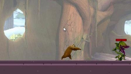 熊出没之雪岭熊风  熊二城堡大冒险
