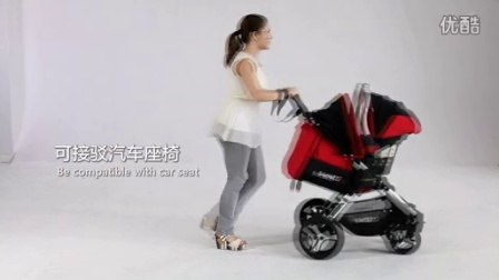 B18.3 Lusso 婴儿手推车使用指导视频