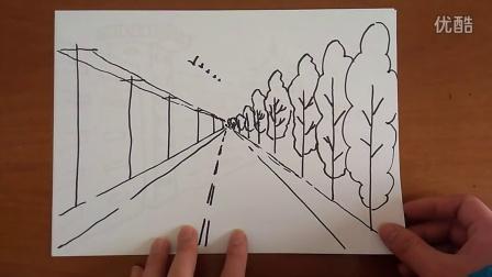 风景静物范画作品集简笔画跟李老师学画画