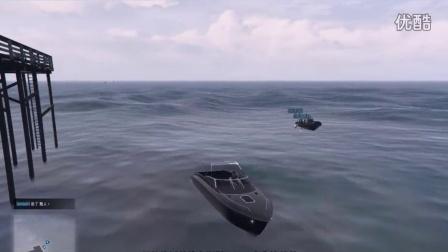 【预言解说】GTA5-抢船四君子   警察追人就是干 搞笑侠盗猎车手5 玩的就是刺激