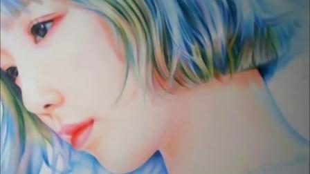 少女时代.SNSD.金泰妍_ Rain'钢琴 彩铅画版by afreecaTV 손그림방송 'Girl's Generation MV【Live】Taeyeon