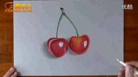 3D绘画How I draw cherries_标清