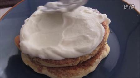 【大吃货爱美食】简单甜点——香浓可口的提拉米苏薄烤饼~ 160419